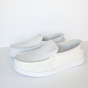 DC Shoes Villain Triple White Slip On Mens Size#13